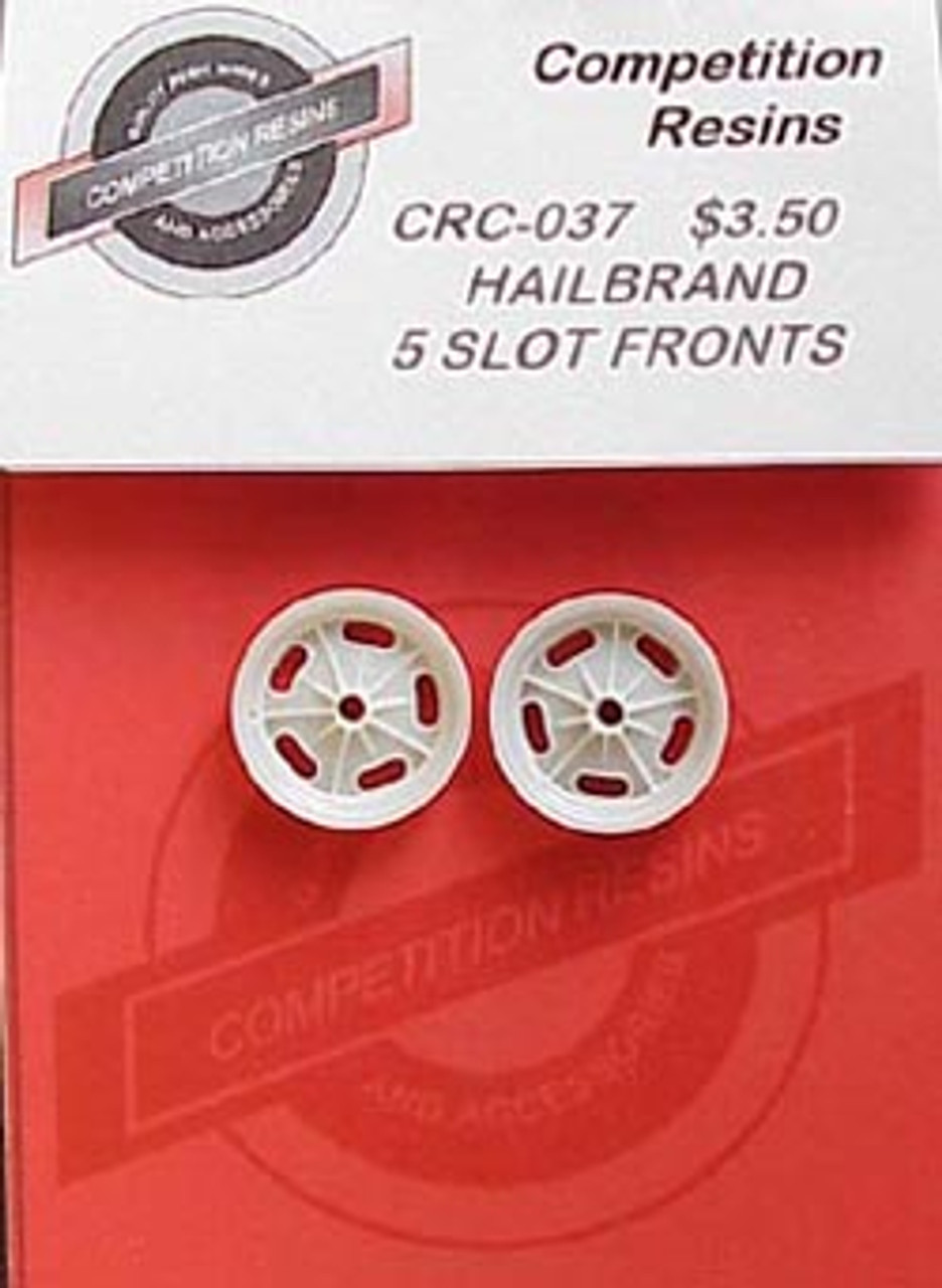 Halibrand Front Wheels 1/25