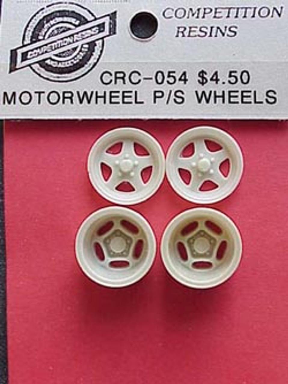 Motorwheel Pro Stock Wheels Front & Rear 1/25
