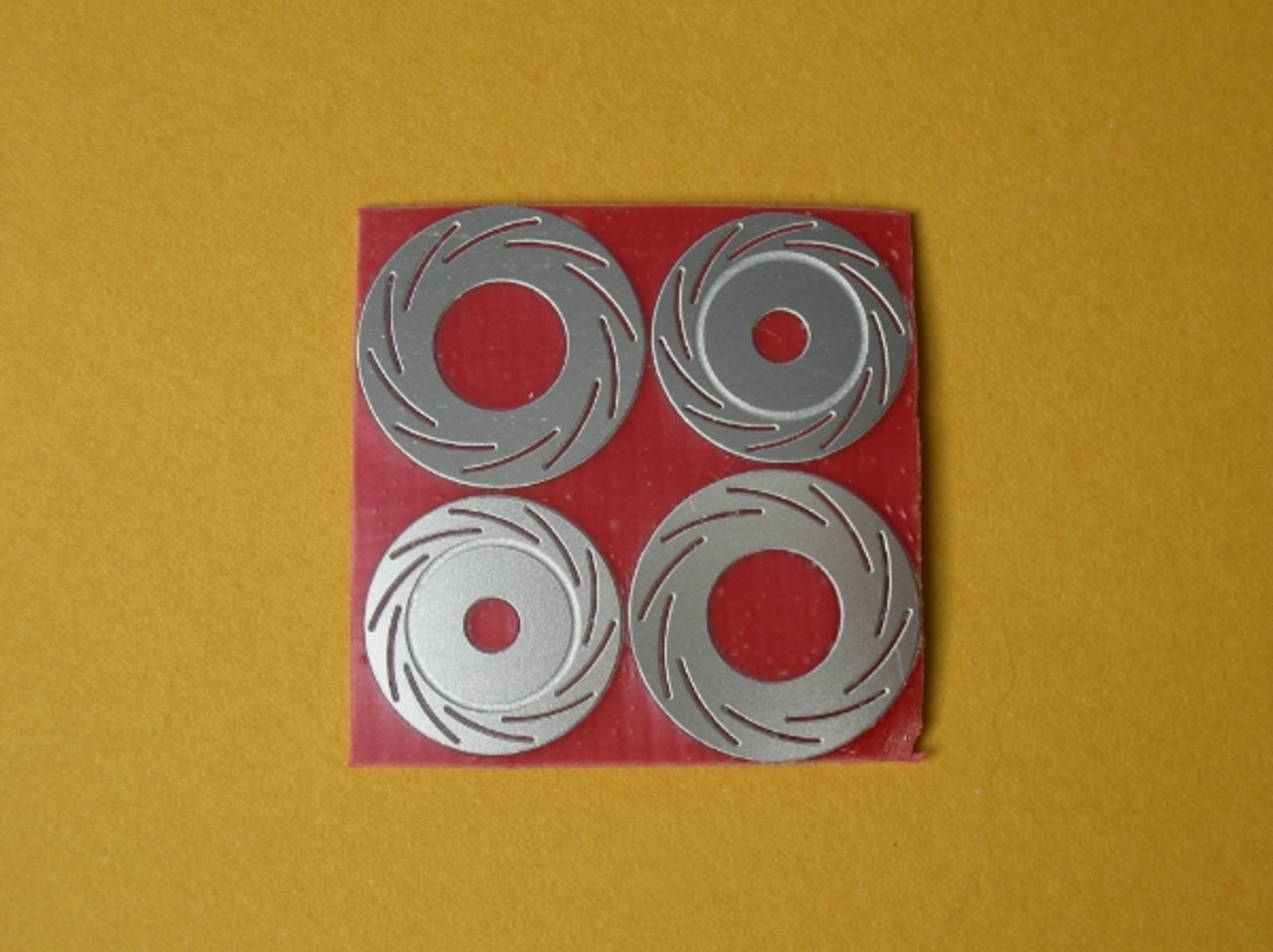 Slotted Rotor 4-Piece Set 1/16