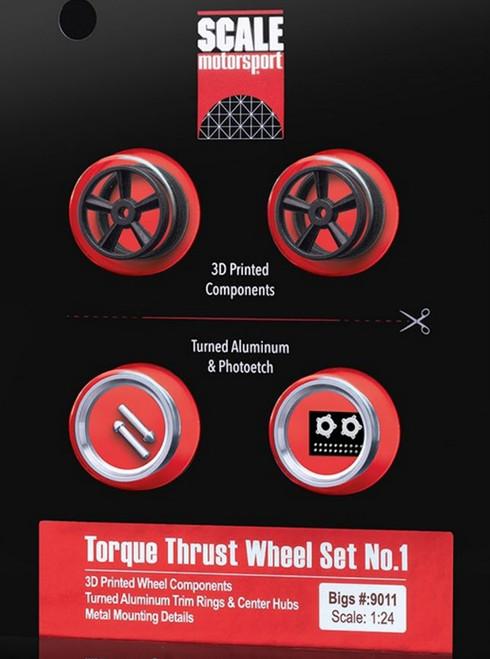 Torque Thrust Wheels, Rear, 'Bigs' 1/24