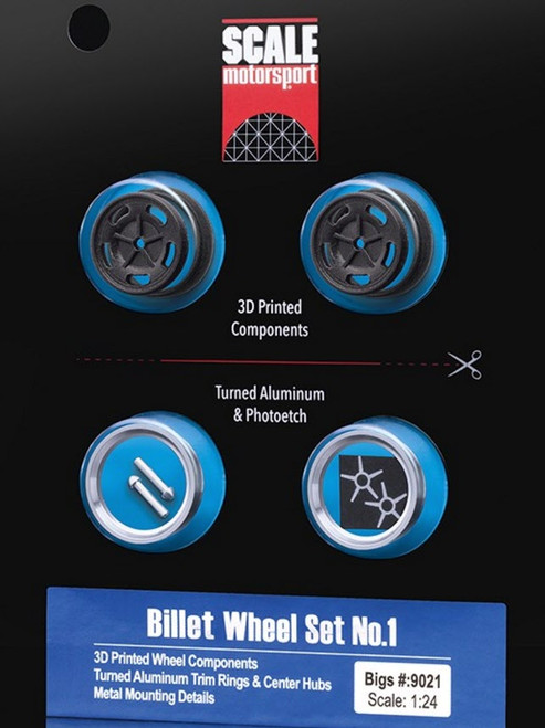 Billet Wheels, Rear, 'Bigs' 1/24