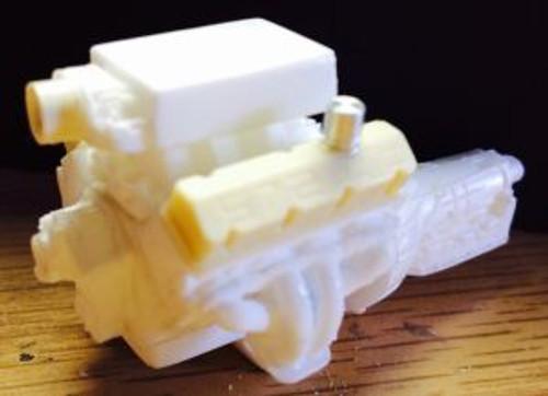 BBC 572 Single Inlet Plenum Intake Engine 1/25