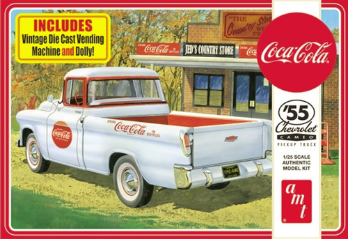 55 Chevy Coca-Cola Cameo Pickup 1/25
