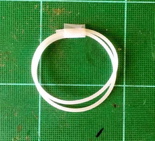 Soft Clear Line Hose .078, 2mm OD .039, 1mm ID