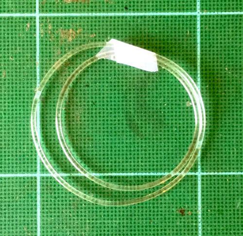Soft Clear Line - Hose .059, 1.5mm OD Dia.
