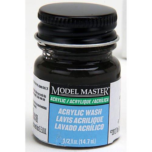Black Detail Wash, 1/2oz Bottle