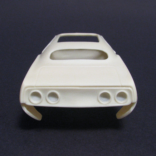72-'74 'Cuda Rat Rod Body, 1/25