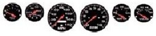 Gauges, Black Face 1/24-1/25