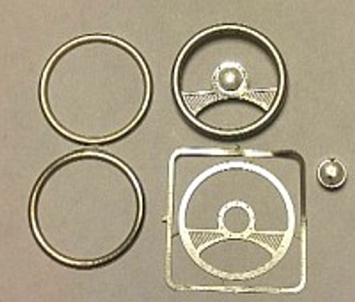 2-Spoke Billet Steering Wheel 1/24-1/25