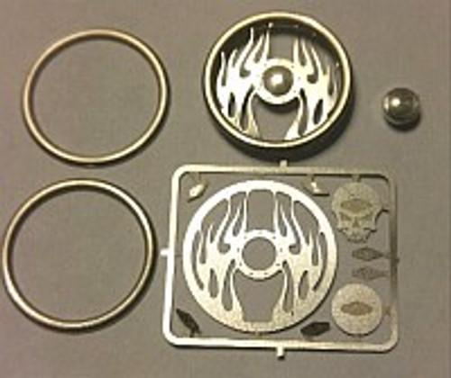 Inferno Skull Steering Wheel 1/24-1/25