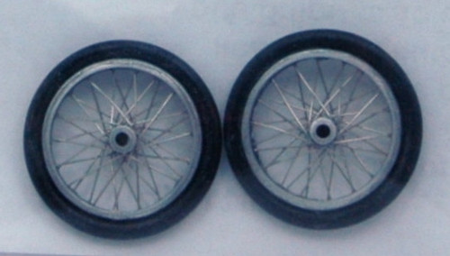 Dragster Wire Wheels 1/24