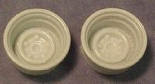 Wide Rear Steel Wheel Pair 1/25