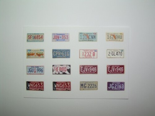 State License Plate Set 1/25