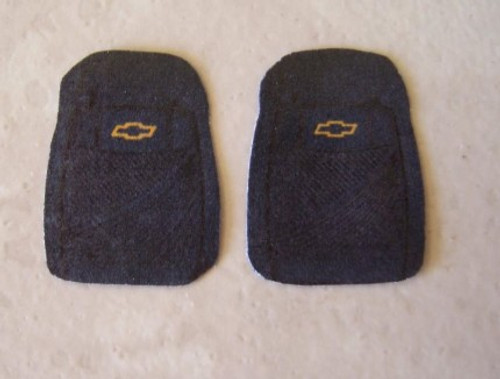 Floor Mats/Mud Flaps, Small Chevy 'Bowtie', 1/25