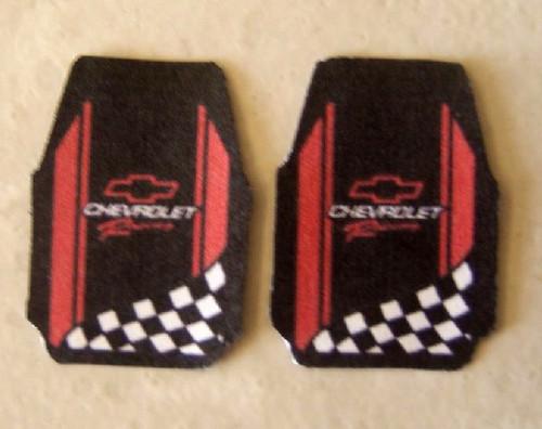Floor Mats, Chevy Racing/Performance, 1/25