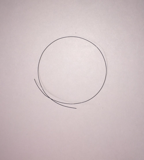"Black Coated Hard Line .016"", .4mm Dia"