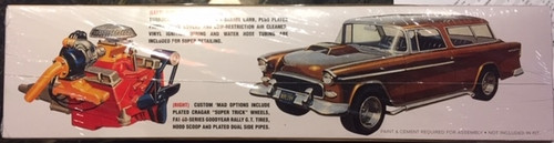 55 Chevy Nomad Wagon, 1/16 scale