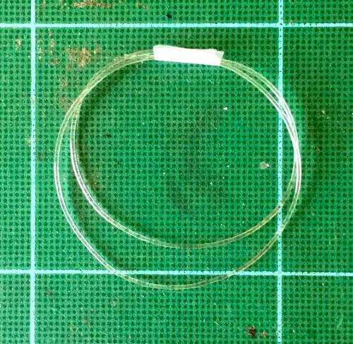 "Soft Clear Line Hose .032"", .8mm"