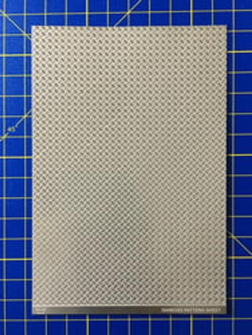 Diamond Plate Material, 1/25