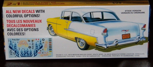 55 Chevy Bel-Air Sedan 1/25