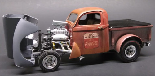 1940 Willys Gasser Coca-Cola Pickup 1/25