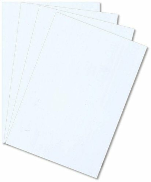 Polystyrene Sheet, White, Various Sizes