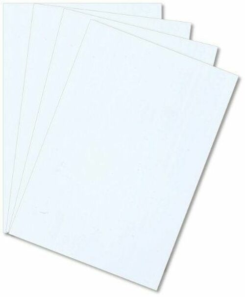 Polystyrene Sheet, White, Various Sizes