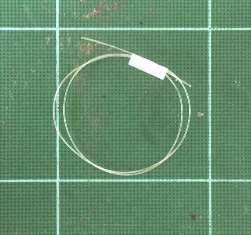 "Soft Clear Line - Hose .012"", .3mm OD"
