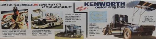 Tyrone Malone's Kenworth Drag Truck 1/25