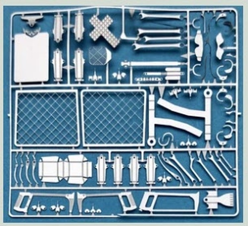 Interior Accessory Details & Tools 1/24-1/25