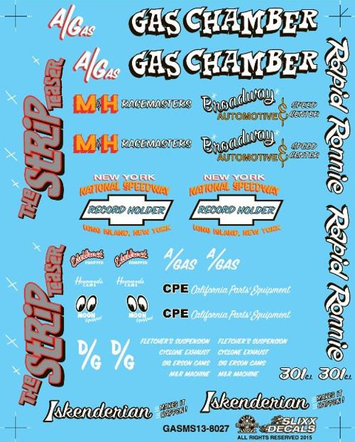 Gasser & New Graphics Decal Sheet #2, 1/25