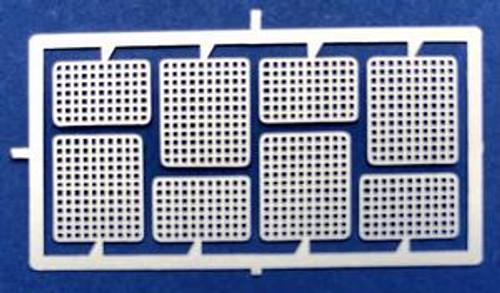 Headlight, Spot Light Rectangular Screens  1/24-1/25