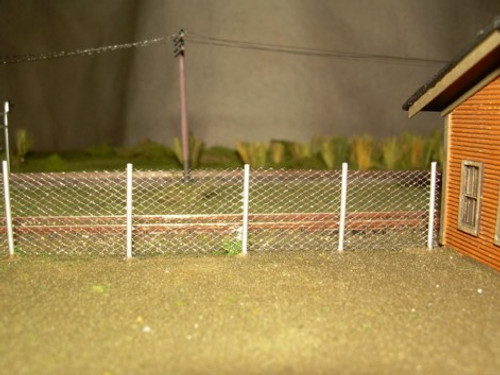 Chain Link Fence N Scale