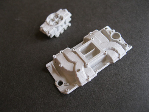 Single 4BLL Carb on Stock Manifold for BBC 1/16