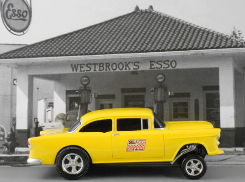 1955 Chevy Gasser 1/18 Scale (Choose Color)