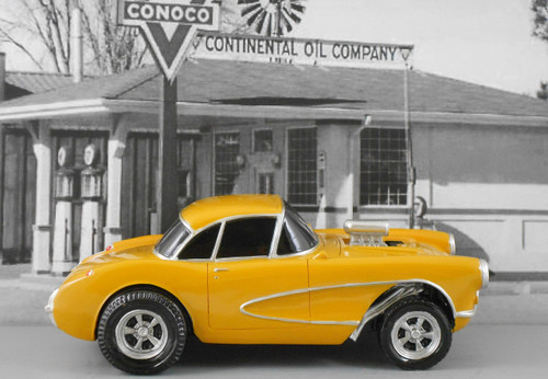 1957 Corvette Gasser 1/18 Scale (Choose Color)