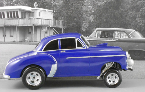 49 Chevy Gasser 1/18 Scale (Choose Color)
