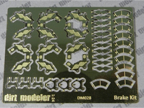 Brake Calipers 4-Wheel Set 1/24