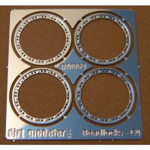 Beadlock Rings 'MPD Style' 1/24