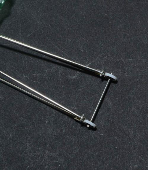 Wheelie Bar-Double & Black Wheel Assembly 1/24
