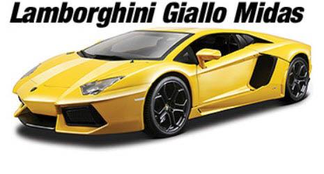 Lamborghini Giallo Midas Pearl Yellow Metallic Paint Ted S