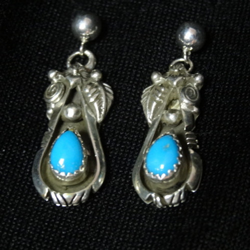 0071cd327 Native American Jewelry - Earrings - Turquoise Earrings - Page 1 ...