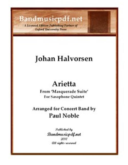 Arietta, for Saxophone Quintet
