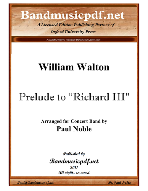 Prelude to Richard III