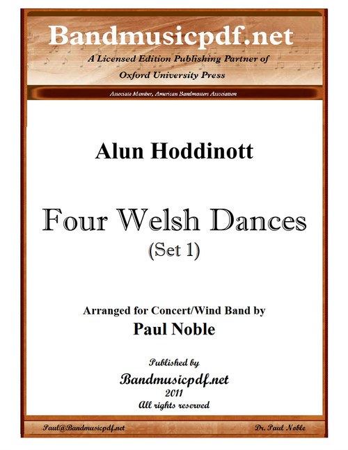 Four Welsh Dances (Set 1)