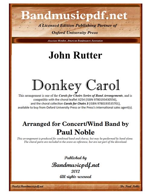 Donkey Carol