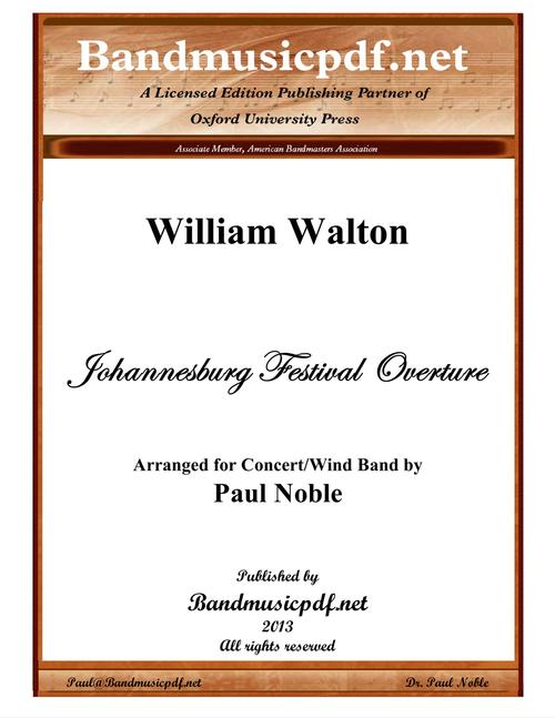 Johannesburg Festival Overture