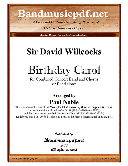 Birthday Carol