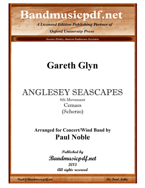 Anglesey Seascapes, 4th Movement