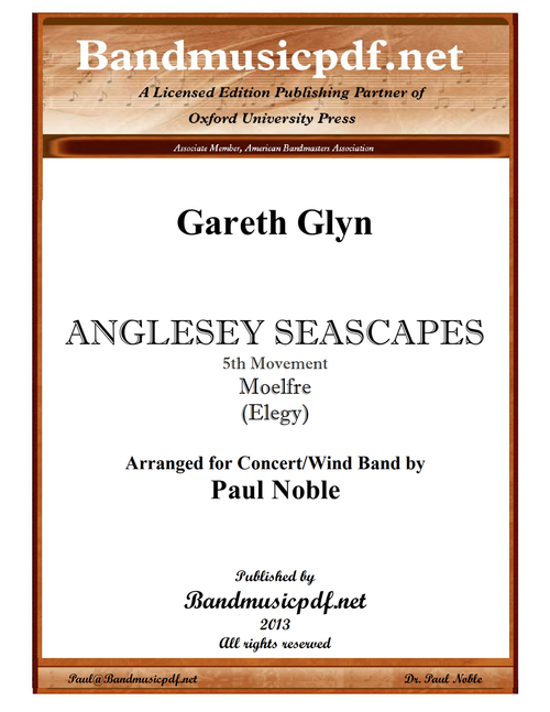 Anglesey Seascapes, 5th Movement